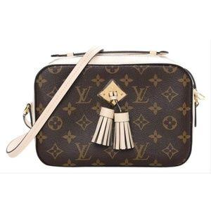 Louis Vuitton Saintonge Creme White Cross Body Bag
